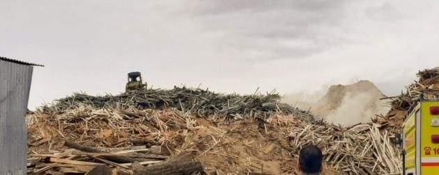 El Ministerio de Producción y Ambiente dispuso la veda de quema a cielo abierto para todo el ejido de Tolhuin