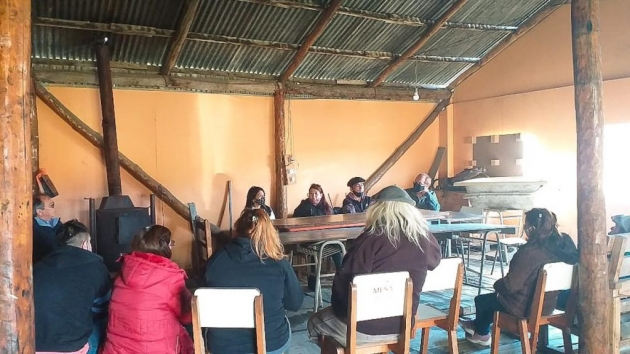 La secretaria de Pueblos Originarios de la Provincia visitó a integrantes de la comunidad Yagan Paiakoala