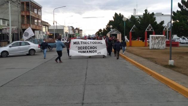 24 de Marzo: amplia movilización de la Multisectorial de Derechos Humanos en Río Grande