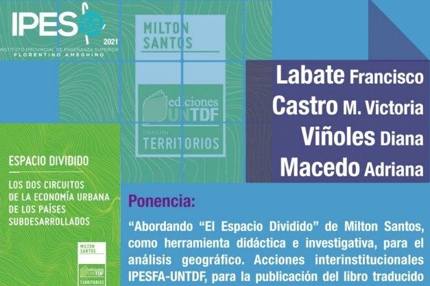 La UNTDF participará de las XIV Jornadas Académicas y Culturales del IPES