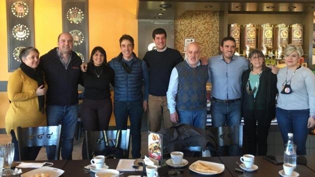 "Ybars manifestó ""el respaldo de Evolución a Tito Stefani de cara al 14 de noviembre"""