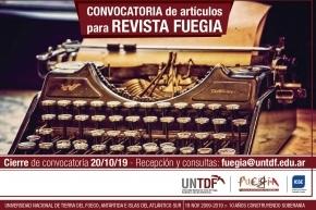 Abrió la convocatoria de artículos para el Volumen 3 de la revista universitaria Fuegia