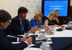Acuerdo MERCOSUR - Unión Europea: Reyser se reunió en el Congreso con diputados y senadores