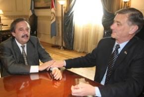 """Alfonsín: """"Estamos acercando posiciones con el FAP"""""""