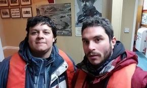 Alumnos de la UTN participaron del cambio de dotación y apoyo logístico de una base de Ucrania en la Antártida