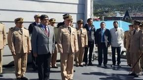 Asumió el nuevo capitán del Guardacostas Prefecto Fique