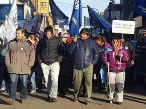 ATE se solidarizó con los trabajadores desalojados y repudian la actitud del gobierno