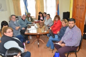 Autoridades del Gobierno se reunieron con representantes barriales de la Margen Sur