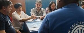 Autoridades del Ministerio de Educación recibieron a ATE y AMET y acordaron trabajar de manera conjunta para mejorar las condiciones de seguridad e higiene en establecimientos