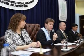 Autoridades del Superior Tribunal de Justicia participaron de la apertura de sesiones legislativas