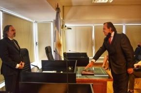 Battaini participó de la jura del nuevo Juez del Tribunal Oral en lo Criminal Federal