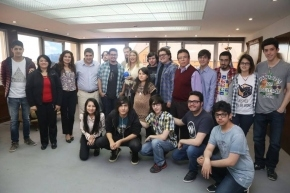 Bertone recibió a los participantes del Global Game Jam