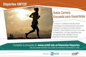 Bienestar UNTDF lanza una encuesta para estudiantes deportistas