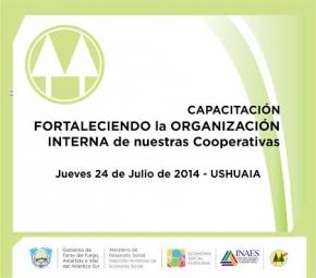 """Capacitación para cooperativistas """"Fortaleciendo la Organización interna de las Cooperativas"""""""