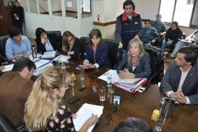 Chapperón destacó tenor del encuentro con legisladores de la Comisión de Salud