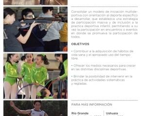 Cierre de actividades de las escuelas de iniciación deportiva