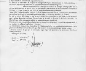 Cirujano infantil desmintió que su alejamiento del HRU se deba a falta de apoyo de las autoridades de Salud