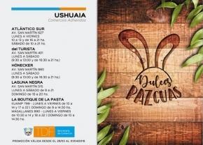 Comercios de Ushuaia y Río Grande ofrecen importantes descuentos por Semana Santa
