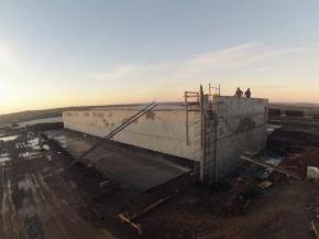 Con fondos municipales, Río Grande reactiva la obra de planta potabilizadora