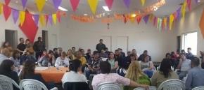 Concejales de Río Grande y funcionarios del Gobierno Provincial se reunieron con referentes barriales para acercar proyectos y propuestas a la comunidad