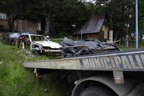 Continúan los operativos de limpieza y saneamiento en Ushuaia