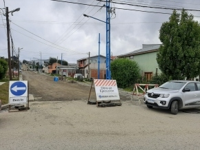 Cortan la calle Francisco Torres por trabajos de hormigonado