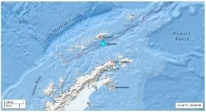 Dachary aseguró que el personal no sufrió daños en el terremoto registrado en la Base Carlini en la Antártida