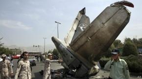 Decenas de muertos por avión que se estrelló en Teherán