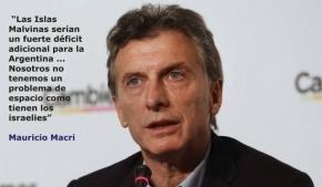 Denunciaron al presidente Macri, al canciller Faurie y dos ministros por traición a la patria