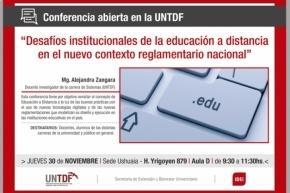 Desafíos institucionales de la educación a distancia en el nuevo contexto reglamentario nacional