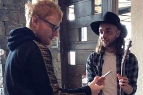 Ed Sheeran está en Ushuaia de paso a su viaje a la Antártida