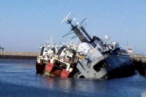 """El capitán del buque Santísima Trinidad dijo que después de la guerra, Inglaterra """"se negó a vender repuestos"""""""