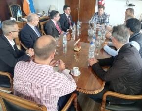 El Centro de Capacitación Portuaria de Buenos Aires presentó al gobernador Melella un programa de gestión portuaria avalado por la ONU