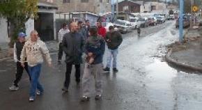 El concejal Bocchicchio recorrió el barrio San Vicente de Paul acompañado de vecinos y militantes del PSP