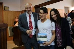 El Concejo Deliberante distinguió a jóvenes deportistas fueguinos