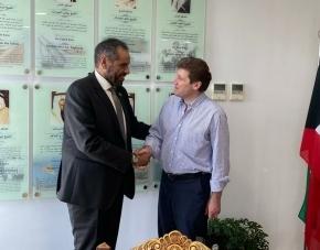 El gobernador Melella se reunió en Buenos Aires con embajadores y funcionarios de Nación para avanzar en el desarrollo de la provincia y traer inversiones