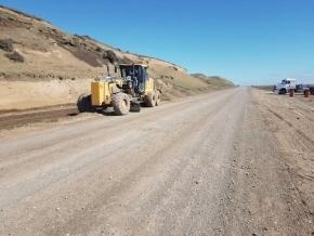 El gobierno nacional continúa con la obra de pavimentación del paso fronterizo San Sebastián
