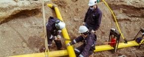 El Gobierno provincial concretó la vinculación de la red de gas en el barrio Argentino de Río Grande