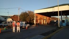 El Gobierno provincial dispuso un operativo de control sanitario en vehículos que ingresen a la provincia por el Paso San Sebastián