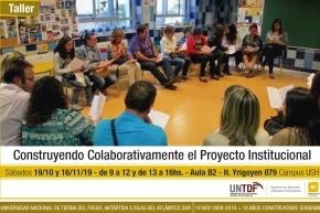 El Instituto de Educación y Conocimiento de la UNTDF dictará un taller sobre construcción de Proyectos Institucionales escolares