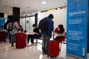 El Ministerio de Salud activó un protocolo sanitario al detectar una mujer que intentó viajar siendo Covid19 positivo
