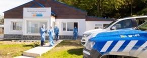 El Ministerio de Salud realizó un operativo de testeos en Puerto Almanza