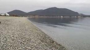 El Municipio de Tolhuin realizó trabajos de limpieza en el lago Fagnano