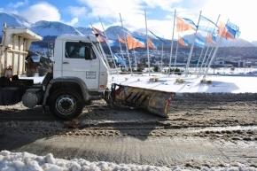 El Municipio de Ushuaia prepara el Operativo Invierno