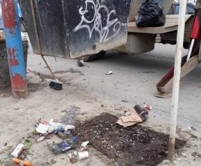 El Municipio de Ushuaia retiró canastos de residuos ubicados frente al colegio Ernesto Sábato