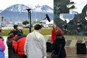 El Nodo TDF del Programa Polos Audiovisuales comenzó a rodar su primera serie en Ushuaia