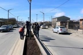 El parquizado de la ciudad comenzará en el nuevo boulevard de la avenida Perón