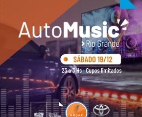 El próximo sábado se realiza en Río Grande el evento DJs Auto Music