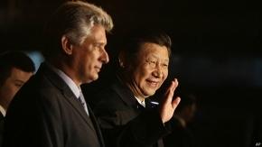 El presidente de China llegó a La Habana
