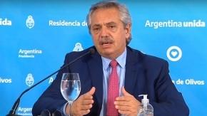 El presidente Fernández confirmó que la cuarentena se prorroga hasta el 12 de abril inclusive